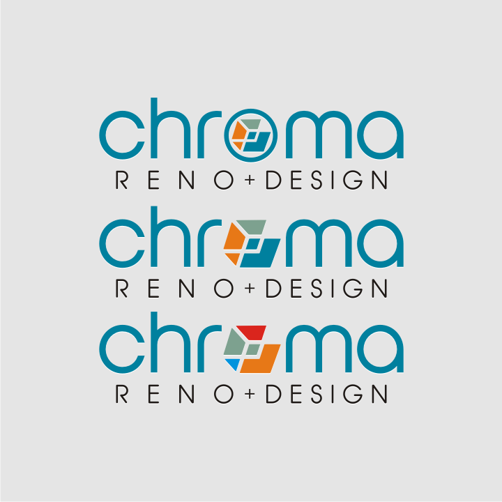 Logo Design by graphicleaf - Entry No. 309 in the Logo Design Contest Inspiring Logo Design for Chroma Reno+Design.