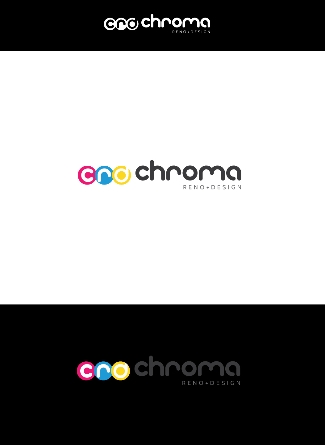 Logo Design by Shameer Okay - Entry No. 313 in the Logo Design Contest Inspiring Logo Design for Chroma Reno+Design.