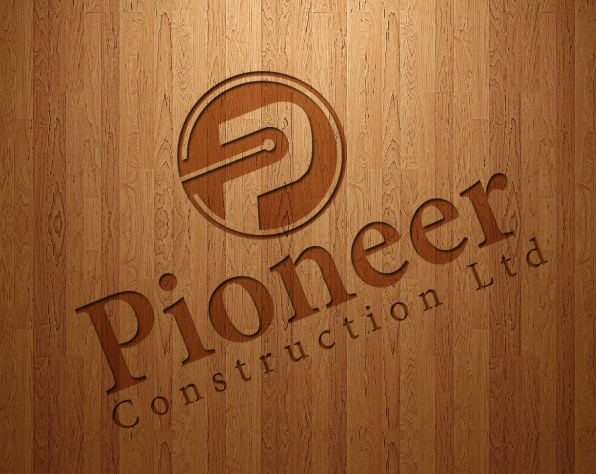Logo Design by lagalag - Entry No. 4 in the Logo Design Contest Imaginative Logo Design for  Pioneer Construction Ltd.