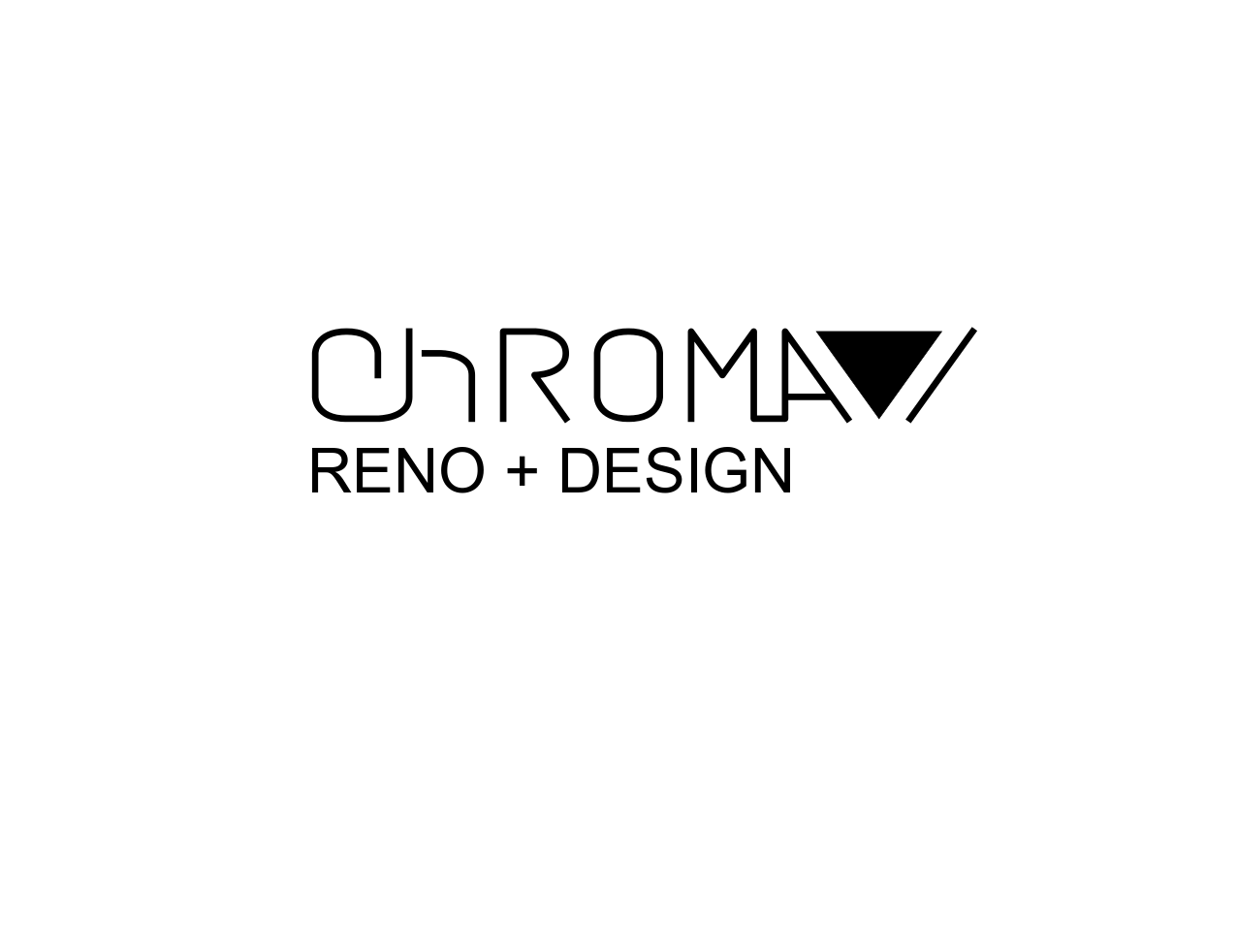 Logo Design by JaroslavProcka - Entry No. 315 in the Logo Design Contest Inspiring Logo Design for Chroma Reno+Design.