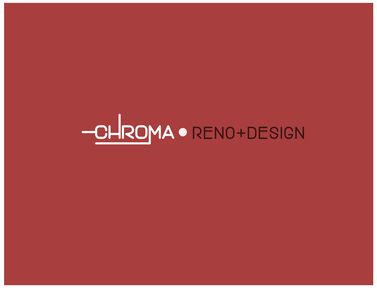 Logo Design by JaroslavProcka - Entry No. 318 in the Logo Design Contest Inspiring Logo Design for Chroma Reno+Design.