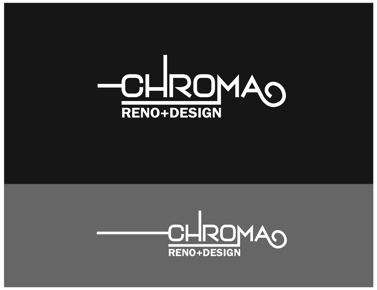 Logo Design by JaroslavProcka - Entry No. 319 in the Logo Design Contest Inspiring Logo Design for Chroma Reno+Design.