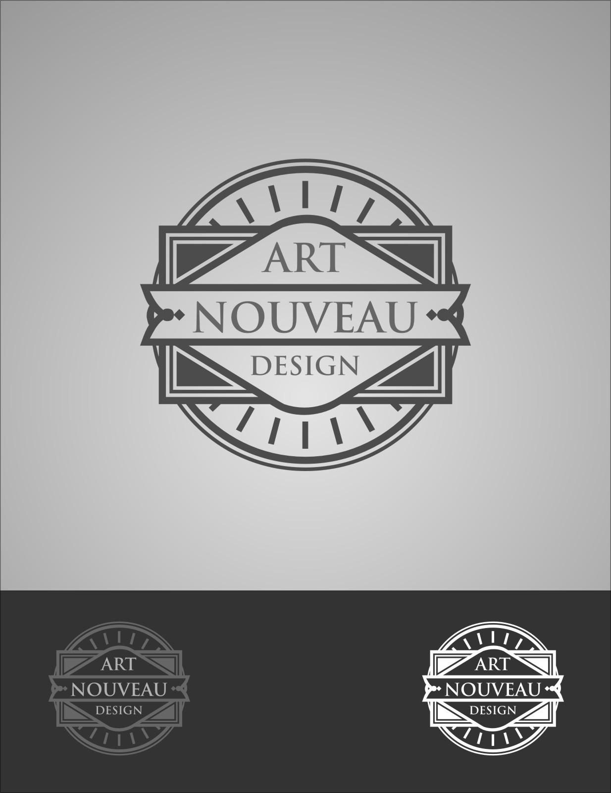 Logo Design by RoSyid Rono-Rene On Java - Entry No. 1 in the Logo Design Contest Artistic Logo Design for Art Nouveau Design.