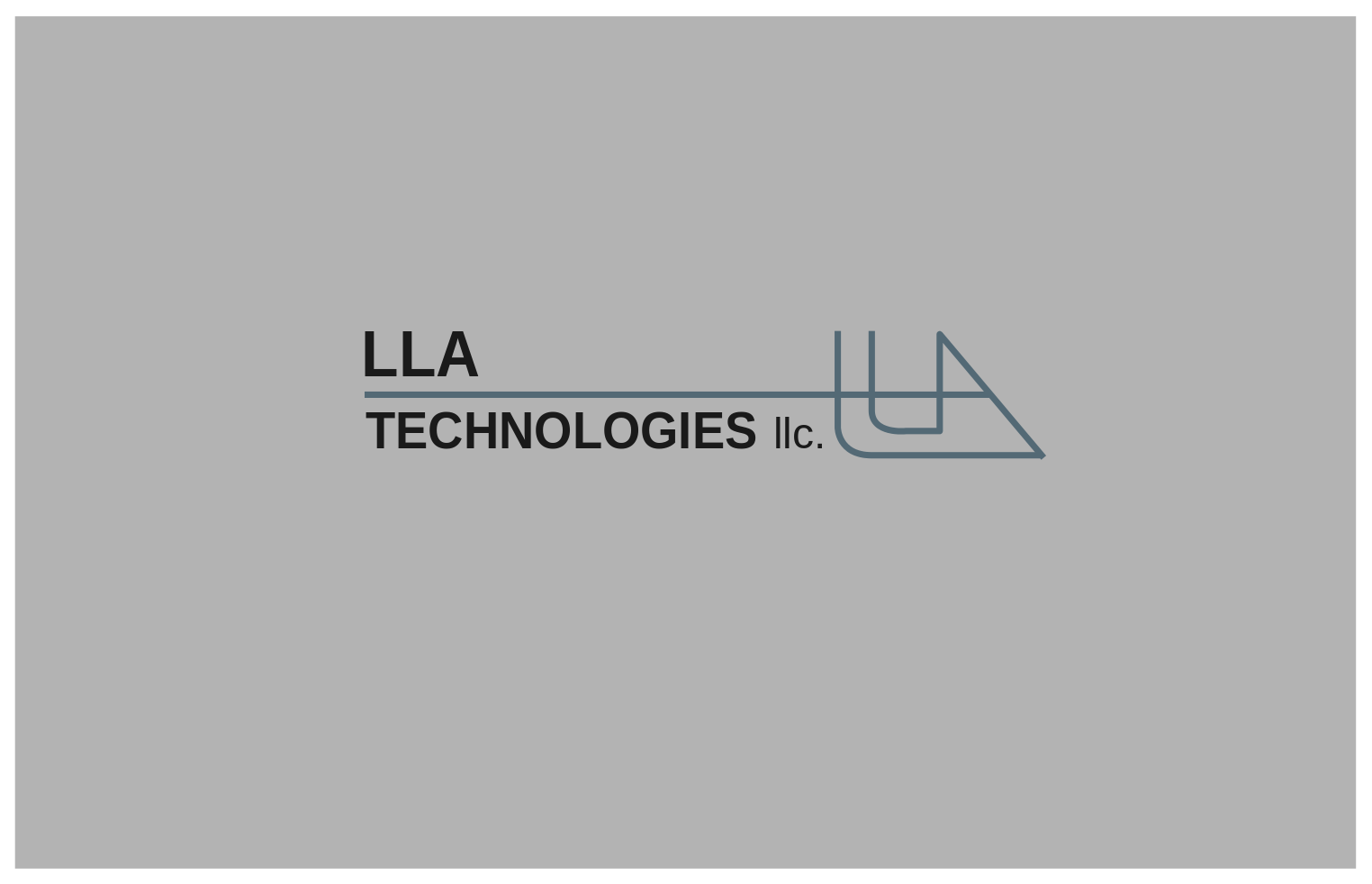 Logo Design by JaroslavProcka - Entry No. 202 in the Logo Design Contest Inspiring Logo Design for LLA Technologies Inc..