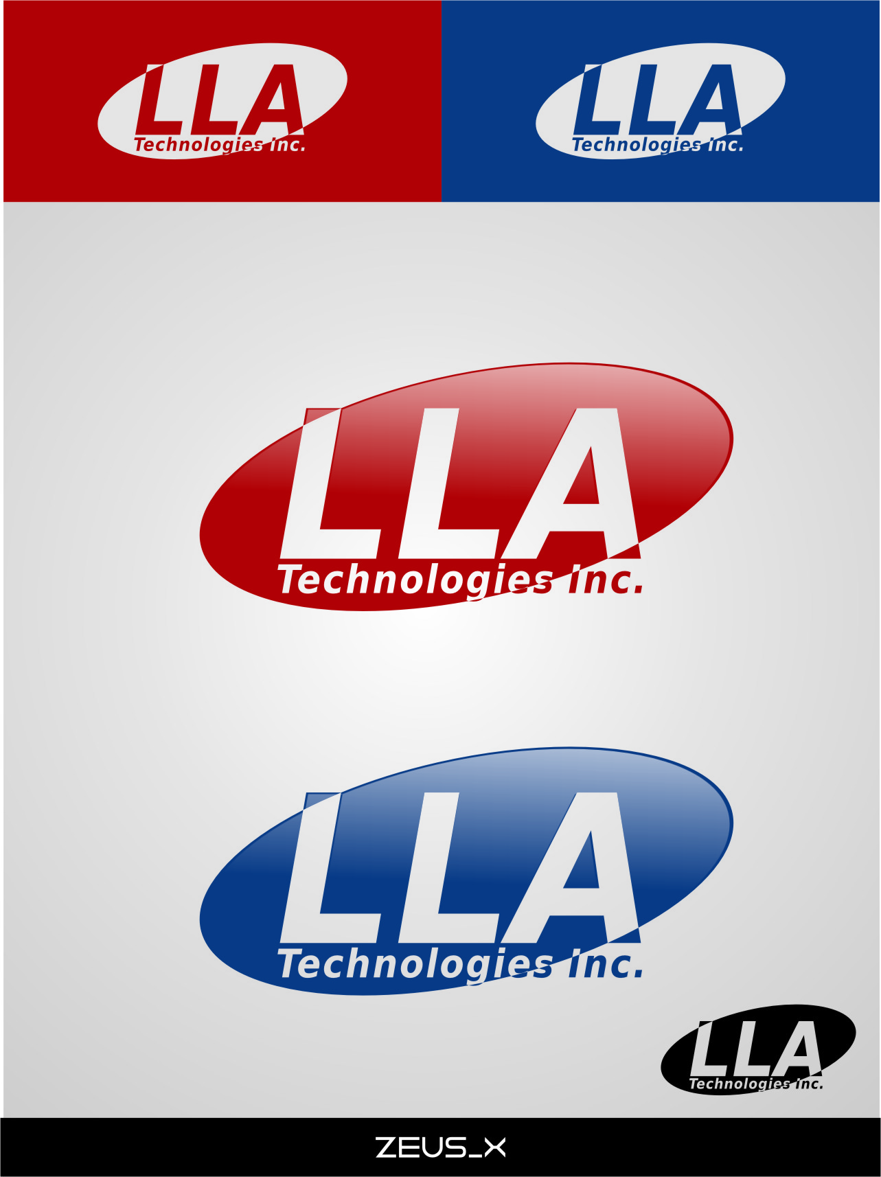 Logo Design by RasYa Muhammad Athaya - Entry No. 206 in the Logo Design Contest Inspiring Logo Design for LLA Technologies Inc..