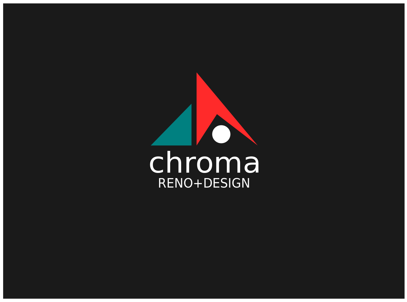 Logo Design by JaroslavProcka - Entry No. 324 in the Logo Design Contest Inspiring Logo Design for Chroma Reno+Design.