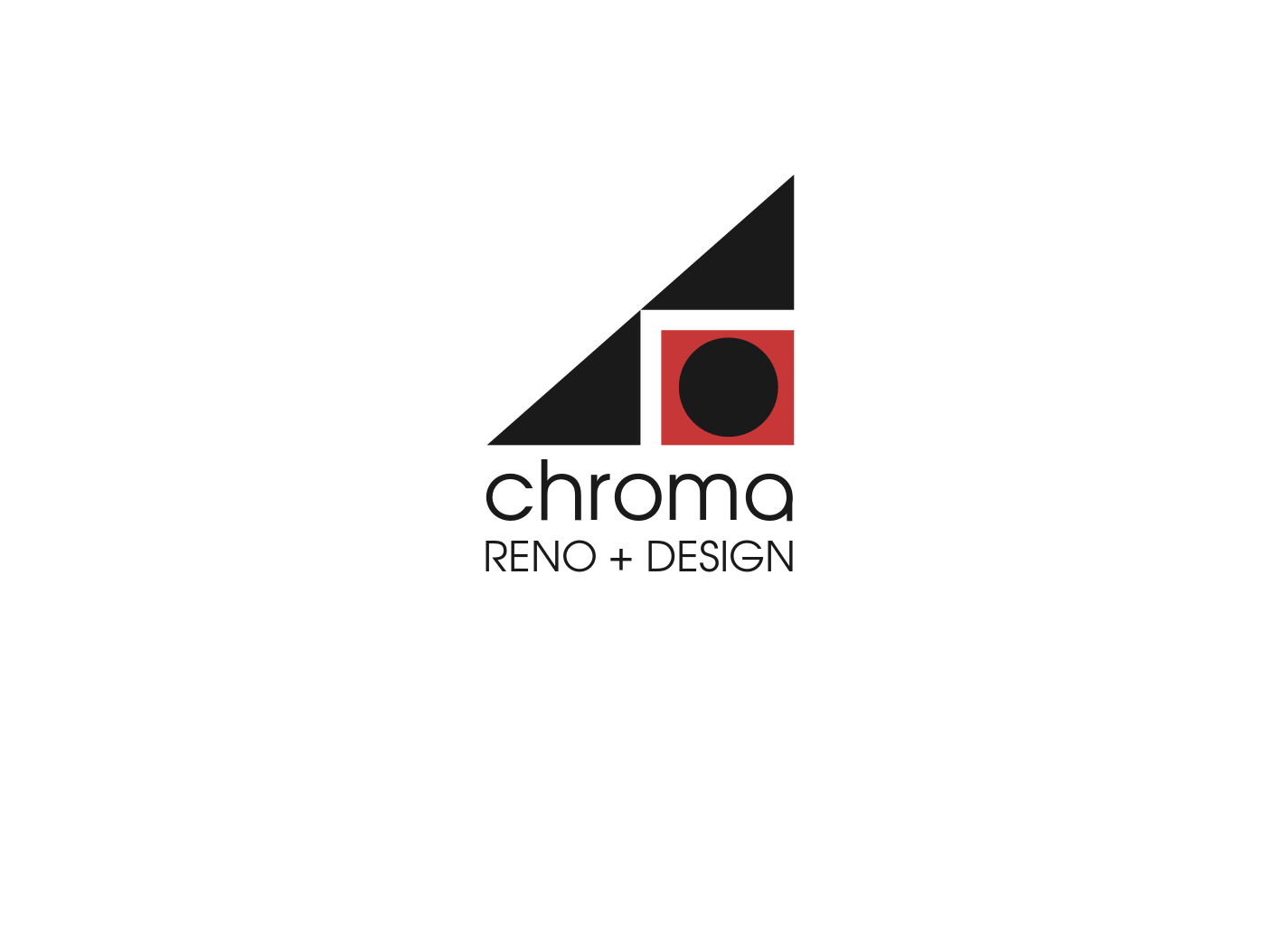 Logo Design by JaroslavProcka - Entry No. 325 in the Logo Design Contest Inspiring Logo Design for Chroma Reno+Design.
