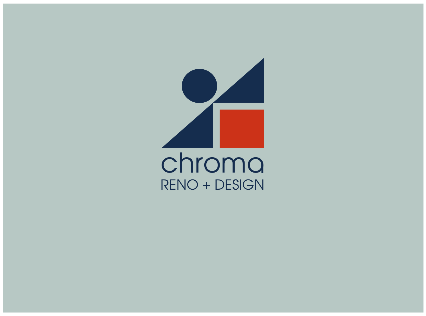 Logo Design by JaroslavProcka - Entry No. 326 in the Logo Design Contest Inspiring Logo Design for Chroma Reno+Design.