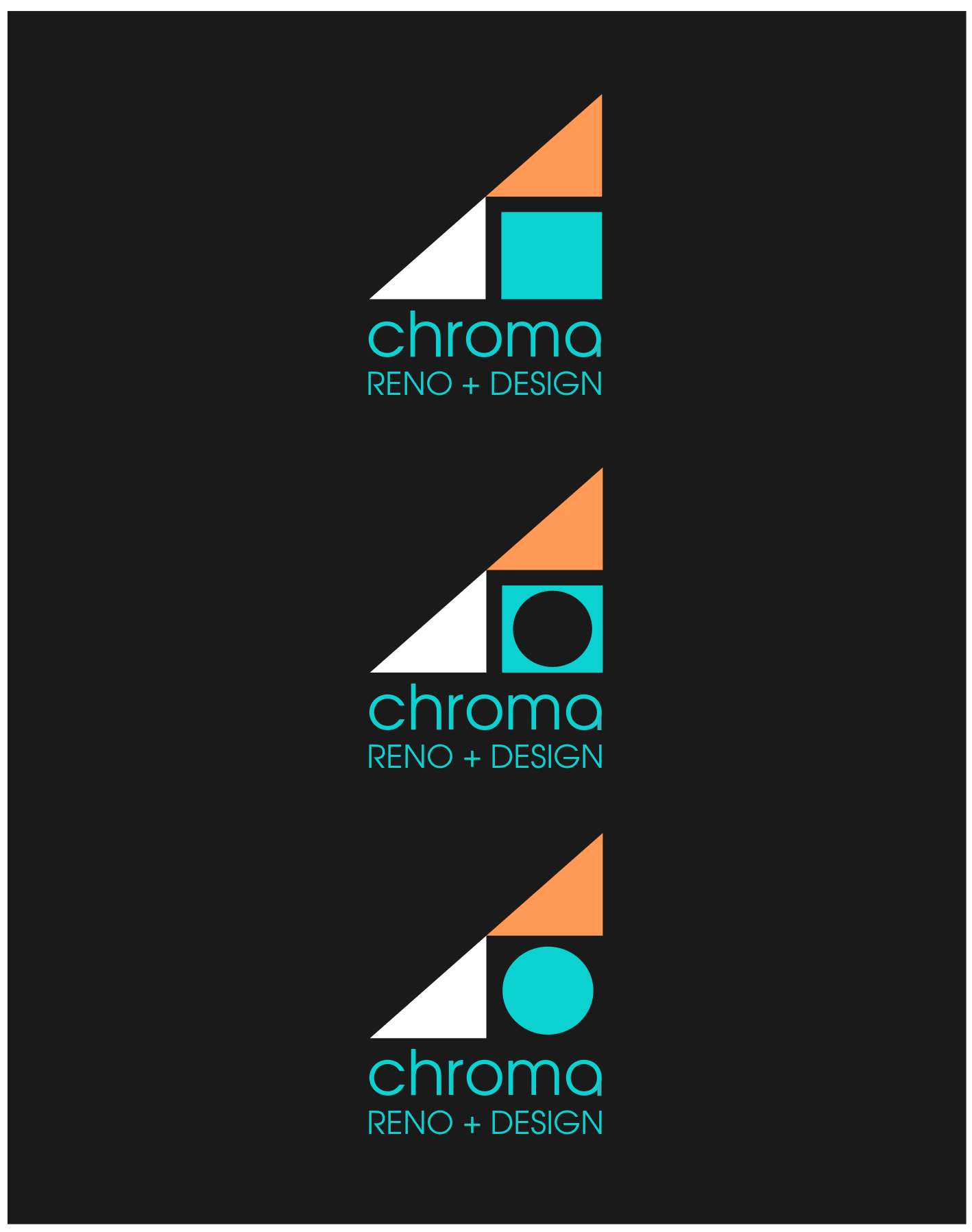 Logo Design by JaroslavProcka - Entry No. 327 in the Logo Design Contest Inspiring Logo Design for Chroma Reno+Design.