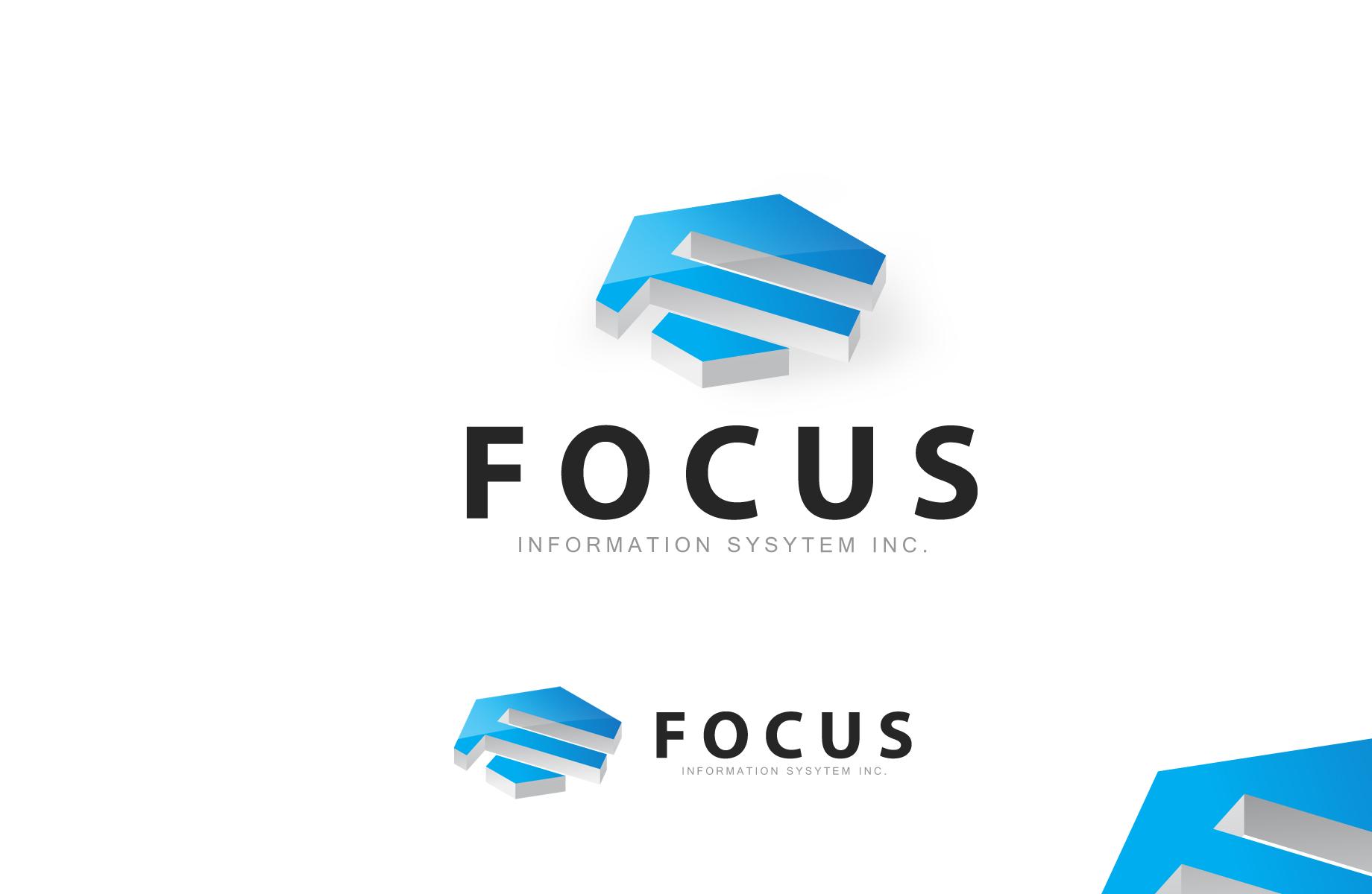 Logo Design by Jan Chua - Entry No. 57 in the Logo Design Contest Artistic Logo Design for Focus Information Systems, Inc..