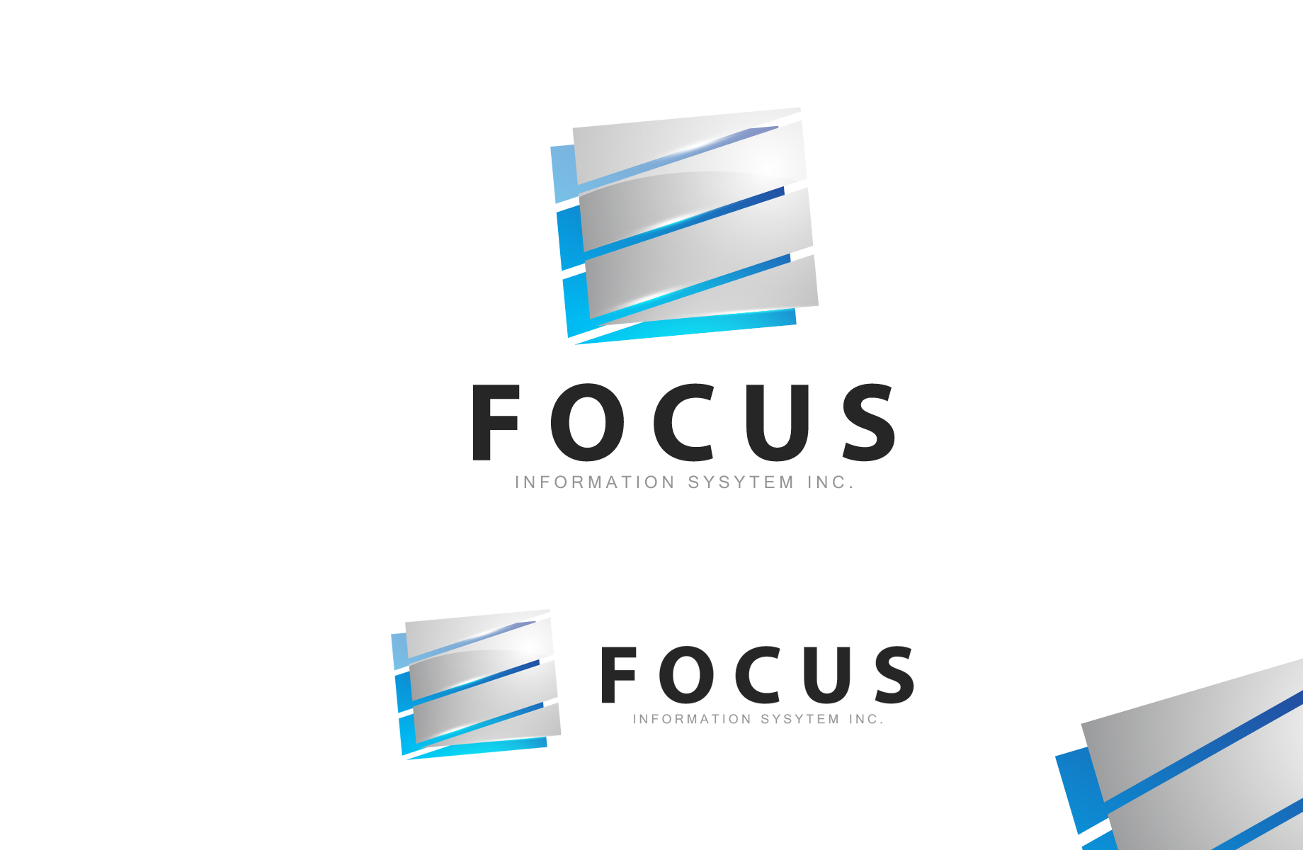 Logo Design by Jan Chua - Entry No. 58 in the Logo Design Contest Artistic Logo Design for Focus Information Systems, Inc..