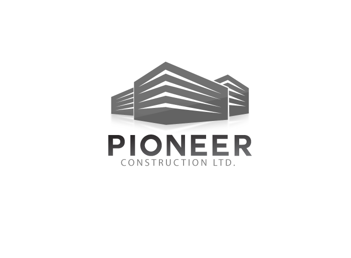 Logo Design by Jan Chua - Entry No. 10 in the Logo Design Contest Imaginative Logo Design for  Pioneer Construction Ltd.