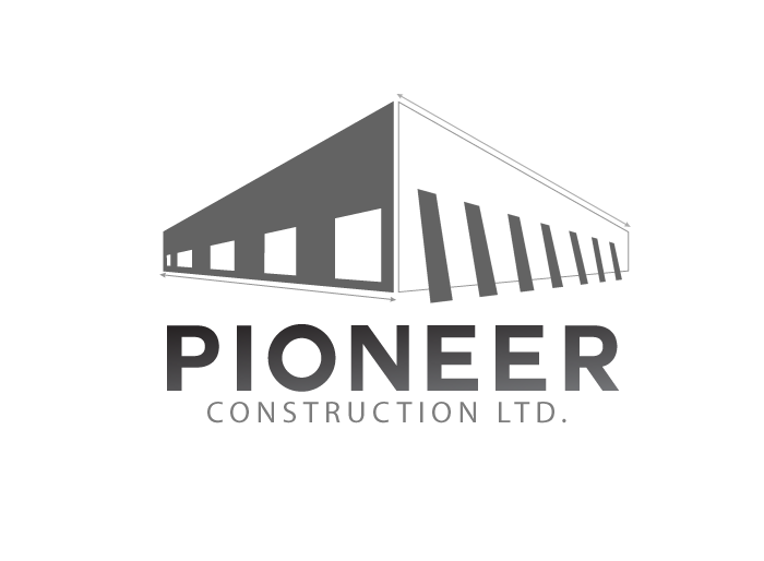 Logo Design by Jan Chua - Entry No. 15 in the Logo Design Contest Imaginative Logo Design for  Pioneer Construction Ltd.
