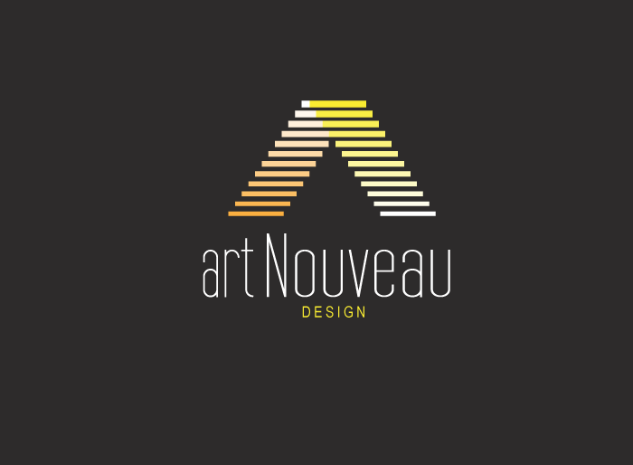 Logo Design by Jan Chua - Entry No. 5 in the Logo Design Contest Artistic Logo Design for Art Nouveau Design.