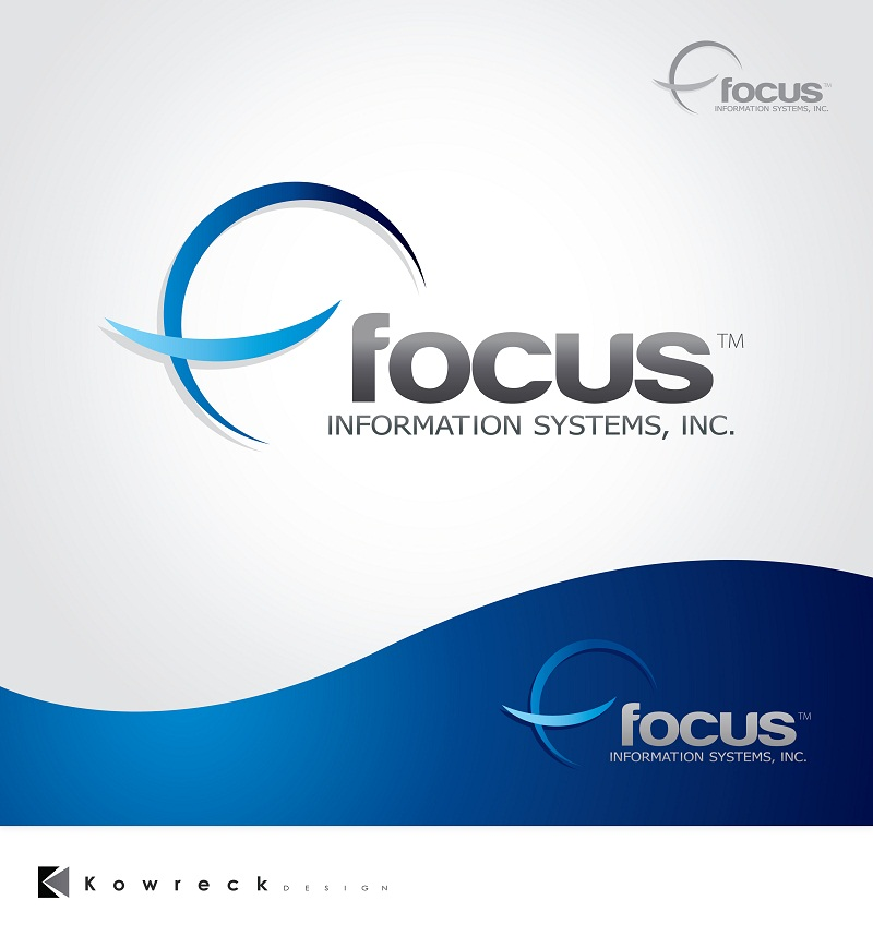 Logo Design by kowreck - Entry No. 63 in the Logo Design Contest Artistic Logo Design for Focus Information Systems, Inc..