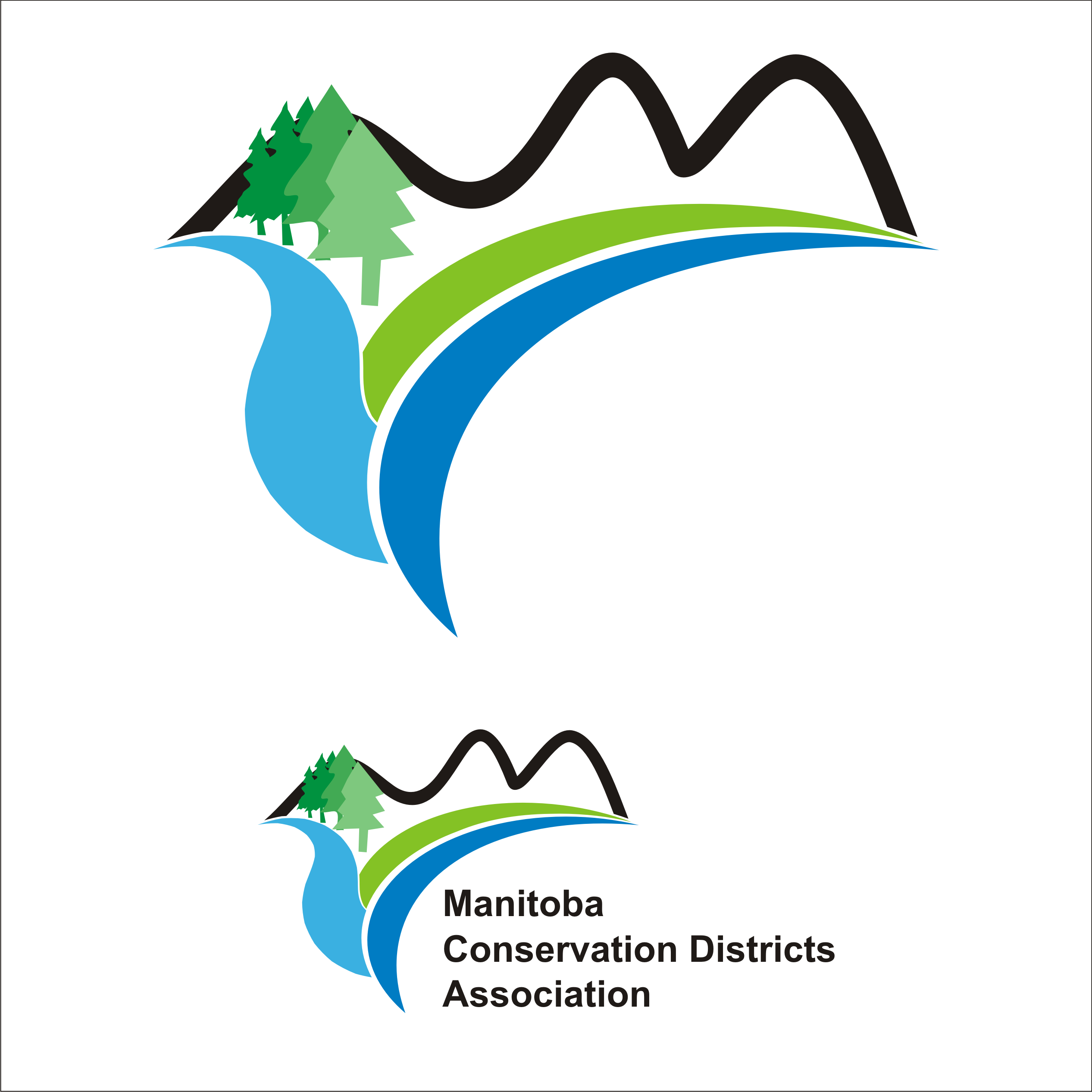 Logo Design by Private User - Entry No. 35 in the Logo Design Contest Manitoba Conservation Districts Logo Design.