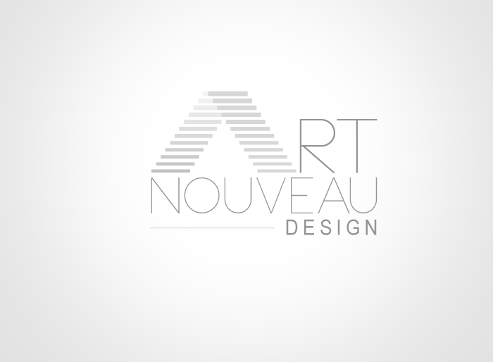 Logo Design by Jan Chua - Entry No. 9 in the Logo Design Contest Artistic Logo Design for Art Nouveau Design.