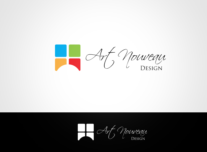 Logo Design by Jan Chua - Entry No. 12 in the Logo Design Contest Artistic Logo Design for Art Nouveau Design.