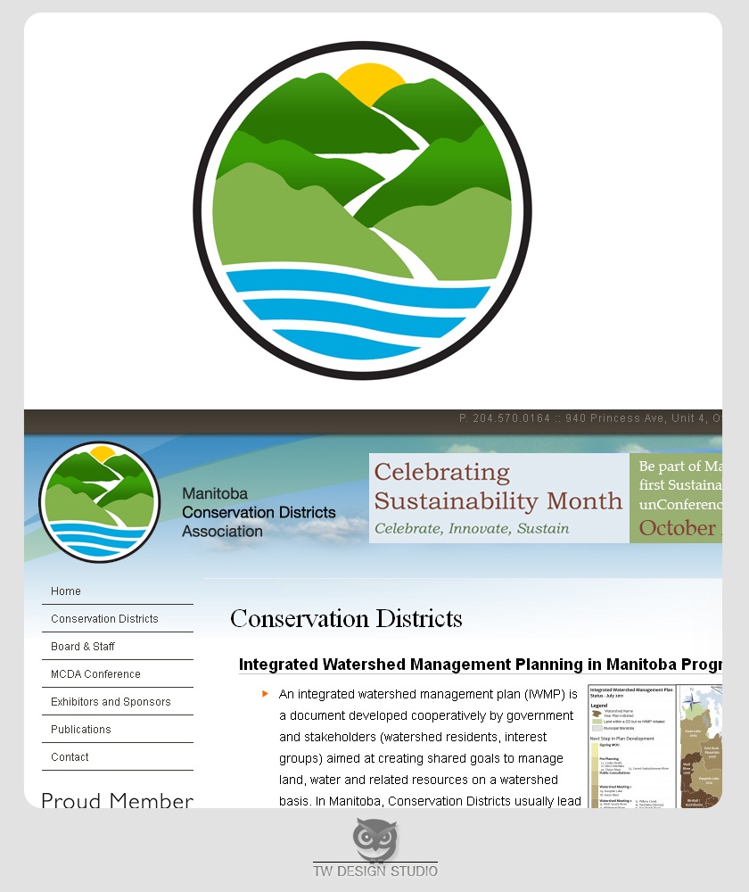 Logo Design by Private User - Entry No. 41 in the Logo Design Contest Manitoba Conservation Districts Logo Design.
