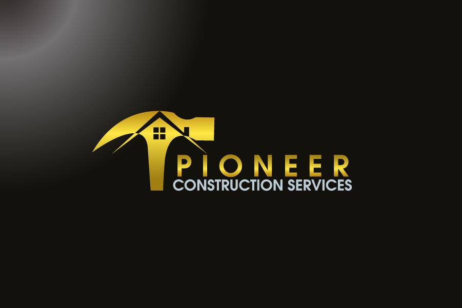 Logo Design by Private User - Entry No. 16 in the Logo Design Contest Imaginative Logo Design for  Pioneer Construction Ltd.