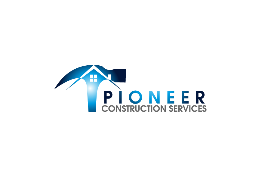 Logo Design by Private User - Entry No. 17 in the Logo Design Contest Imaginative Logo Design for  Pioneer Construction Ltd.