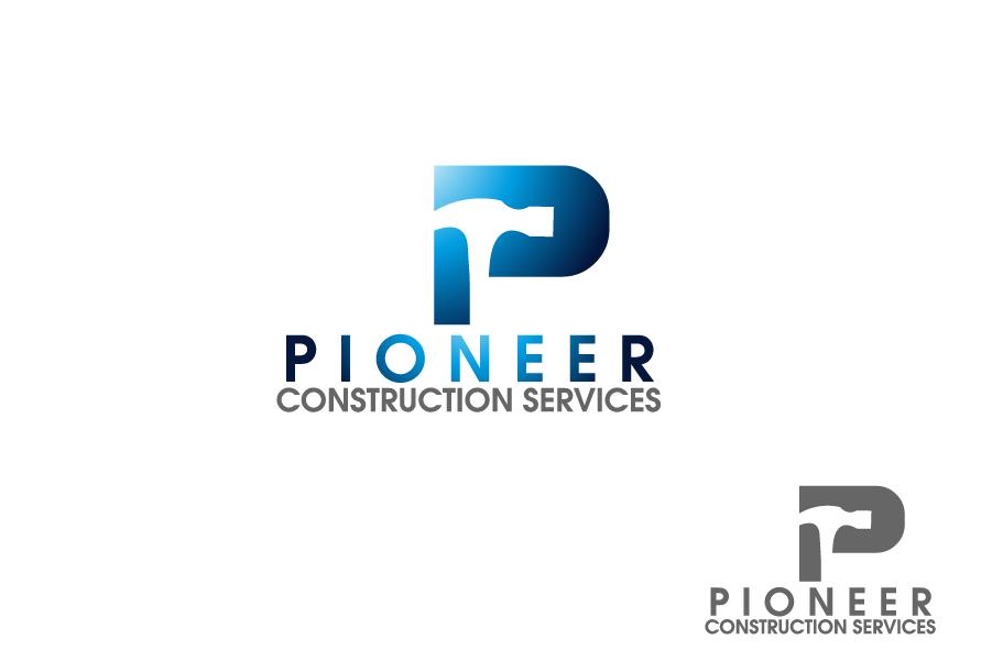 Logo Design by Private User - Entry No. 18 in the Logo Design Contest Imaginative Logo Design for  Pioneer Construction Ltd.