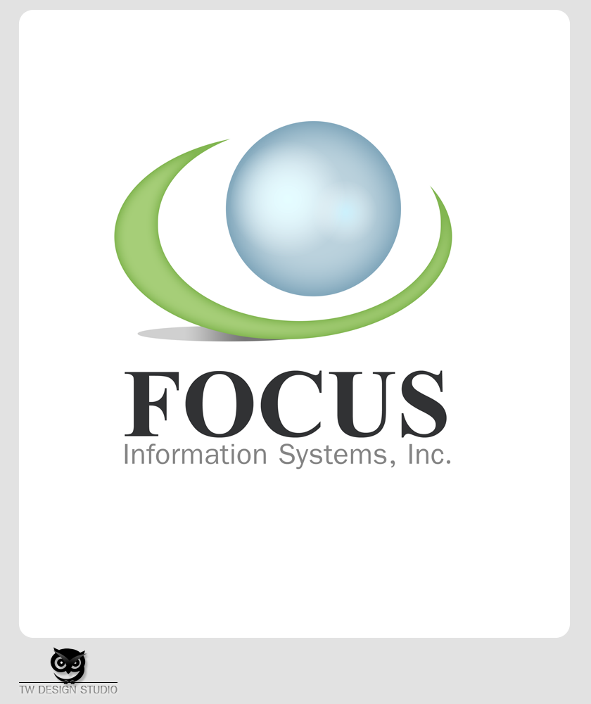 Logo Design by Robert Turla - Entry No. 78 in the Logo Design Contest Artistic Logo Design for Focus Information Systems, Inc..