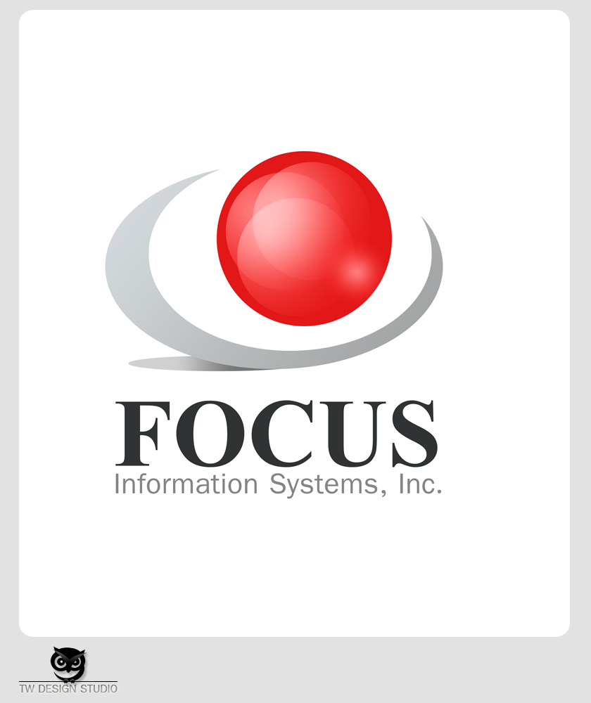 Logo Design by Private User - Entry No. 80 in the Logo Design Contest Artistic Logo Design for Focus Information Systems, Inc..