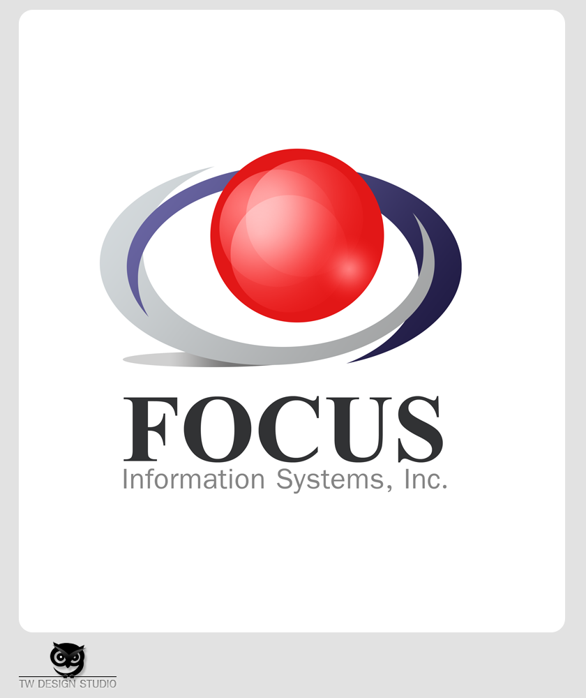 Logo Design by Private User - Entry No. 82 in the Logo Design Contest Artistic Logo Design for Focus Information Systems, Inc..
