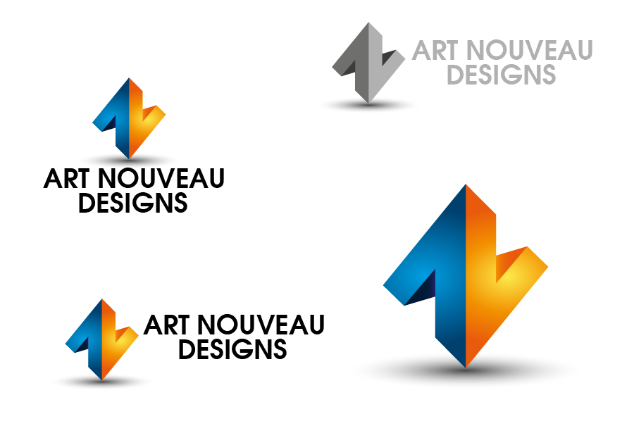 Logo Design by Private User - Entry No. 13 in the Logo Design Contest Artistic Logo Design for Art Nouveau Design.