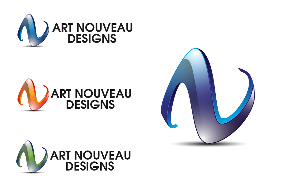 Logo Design by Private User - Entry No. 14 in the Logo Design Contest Artistic Logo Design for Art Nouveau Design.