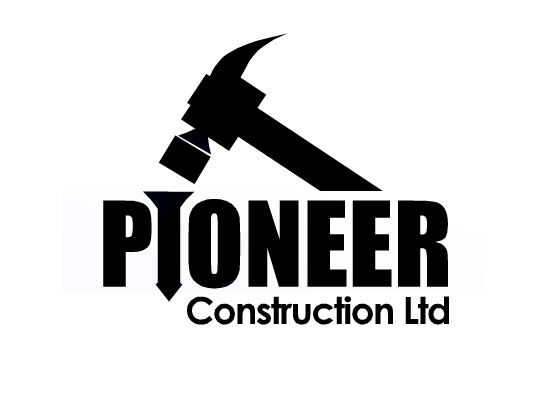 Logo Design by Ismail Adhi Wibowo - Entry No. 20 in the Logo Design Contest Imaginative Logo Design for  Pioneer Construction Ltd.