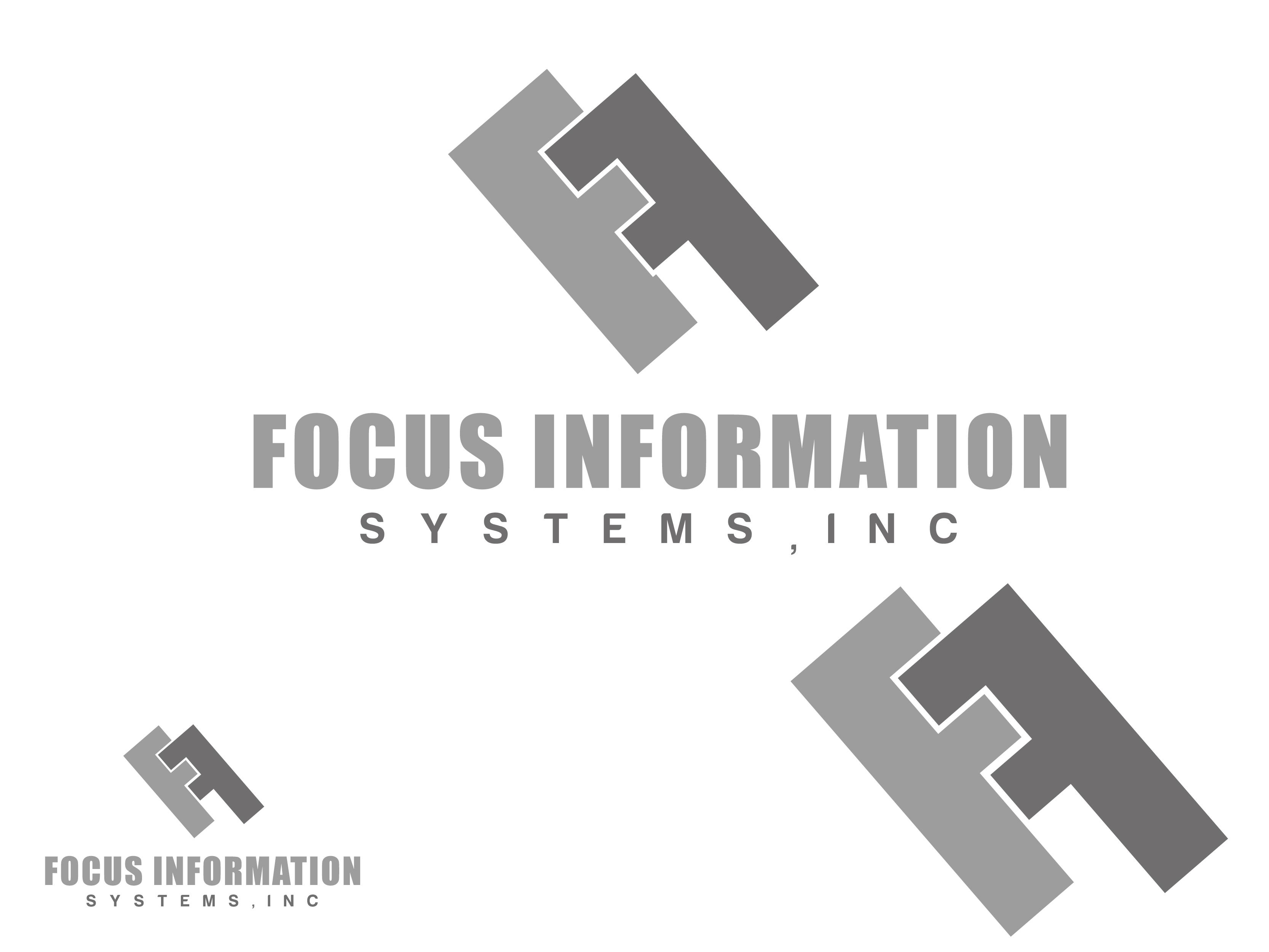 Logo Design by VENTSISLAV KOVACHEV - Entry No. 92 in the Logo Design Contest Artistic Logo Design for Focus Information Systems, Inc..