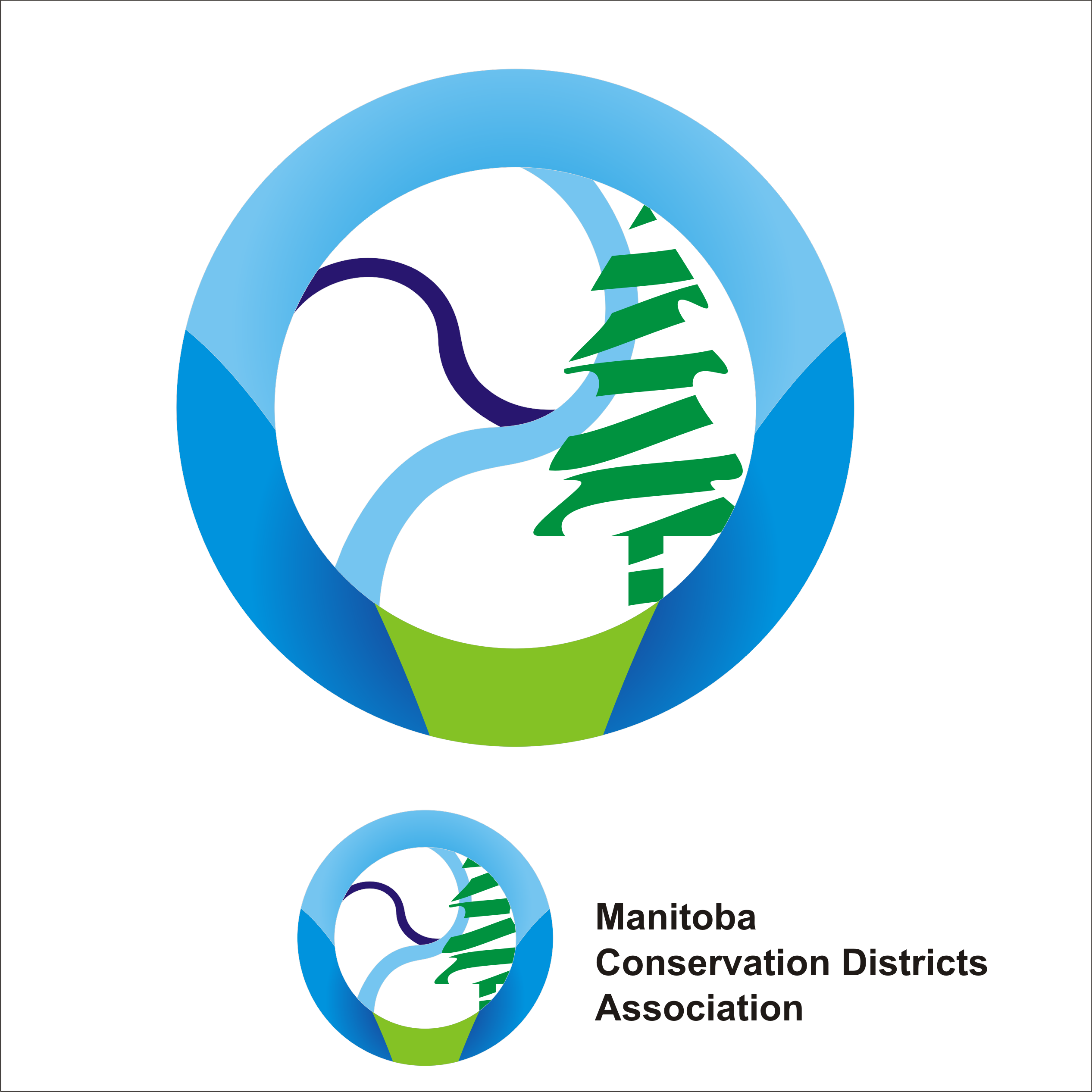 Logo Design by Private User - Entry No. 44 in the Logo Design Contest Manitoba Conservation Districts Logo Design.