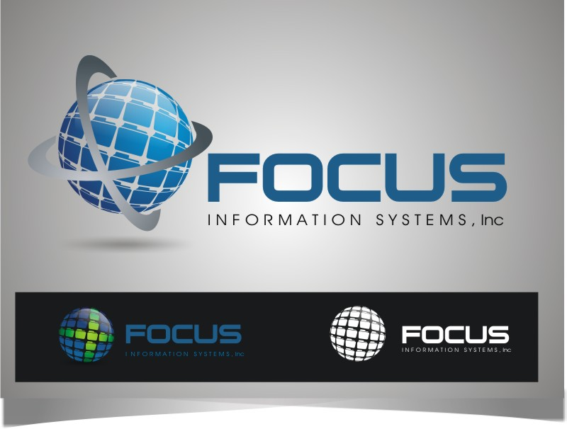 Logo Design by Bangun Prastyo - Entry No. 111 in the Logo Design Contest Artistic Logo Design for Focus Information Systems, Inc..