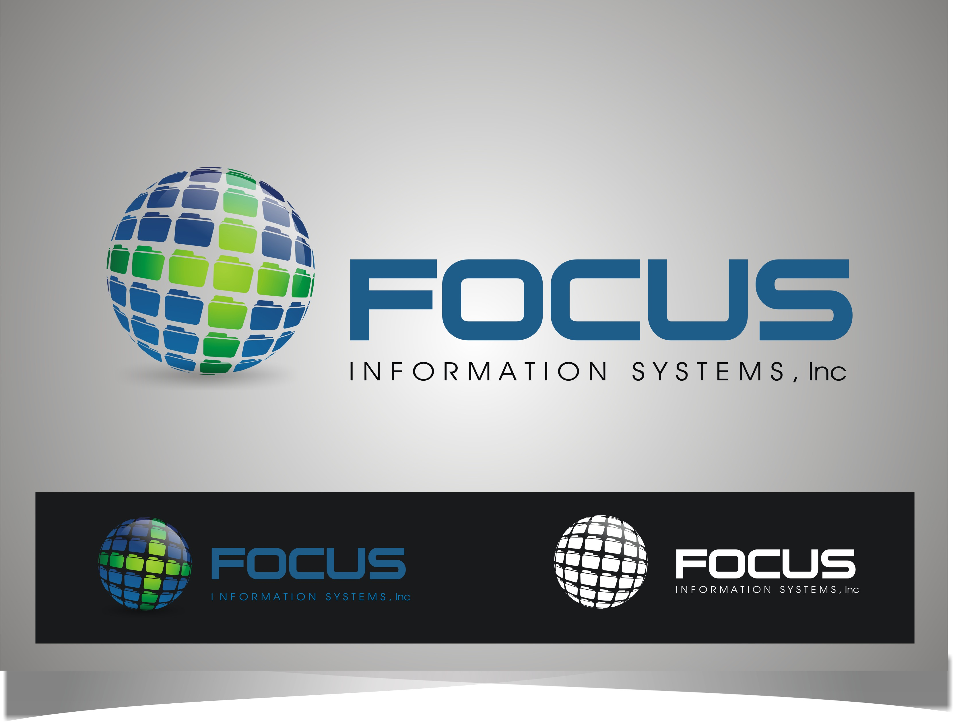 Logo Design by Bangun Prastyo - Entry No. 112 in the Logo Design Contest Artistic Logo Design for Focus Information Systems, Inc..