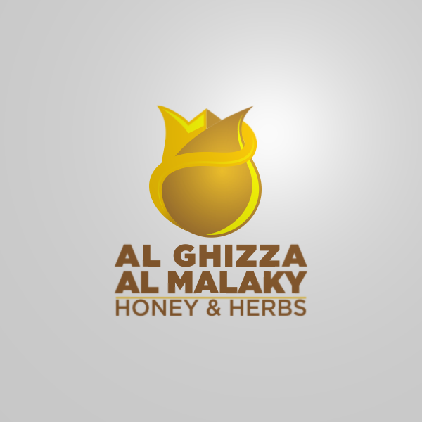 Logo Design by Private User - Entry No. 2 in the Logo Design Contest Artistic Logo Design for ALGHIZZA ALMALAKY HONEY AND HERBS.