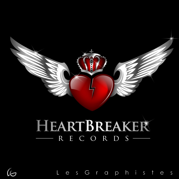 Logo Design by Les-Graphistes - Entry No. 72 in the Logo Design Contest Heartbreaker Records.