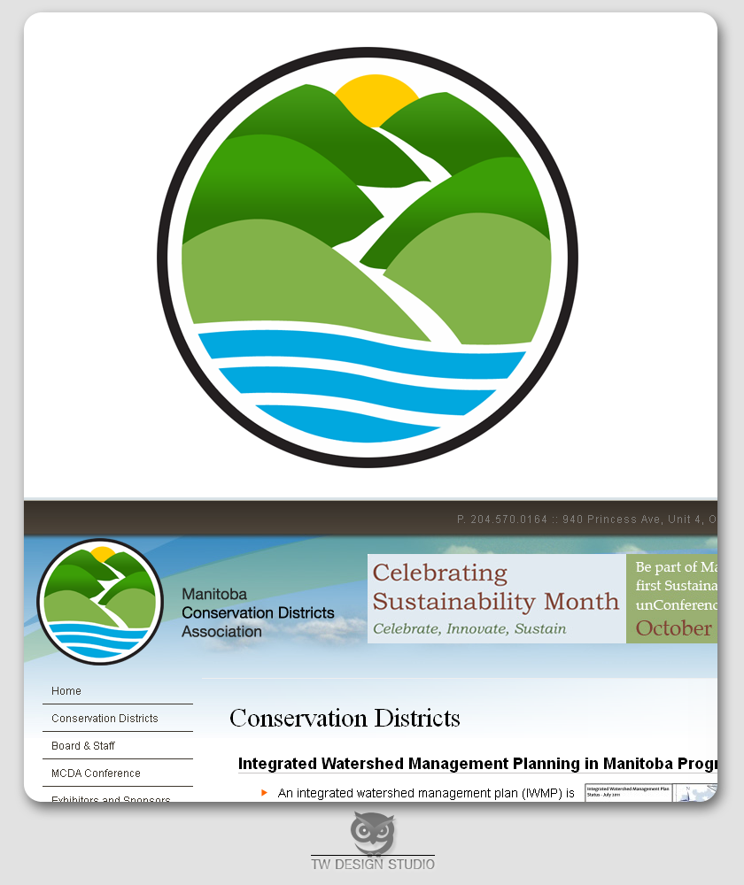 Logo Design by Private User - Entry No. 50 in the Logo Design Contest Manitoba Conservation Districts Logo Design.