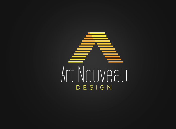 Logo Design by Jan Chua - Entry No. 26 in the Logo Design Contest Artistic Logo Design for Art Nouveau Design.