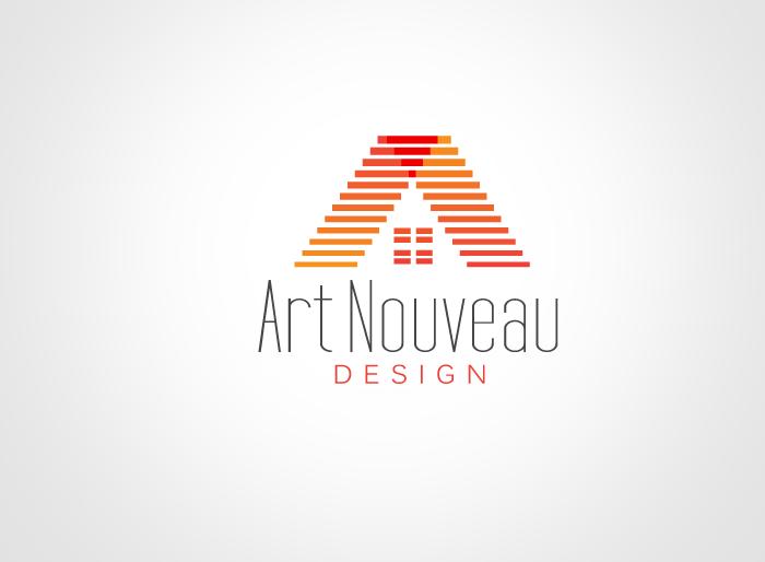 Logo Design by Jan Chua - Entry No. 28 in the Logo Design Contest Artistic Logo Design for Art Nouveau Design.