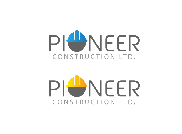 Logo Design by Jan Chua - Entry No. 22 in the Logo Design Contest Imaginative Logo Design for  Pioneer Construction Ltd.