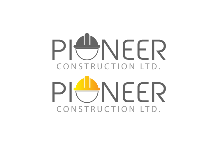 Logo Design by Jan Chua - Entry No. 23 in the Logo Design Contest Imaginative Logo Design for  Pioneer Construction Ltd.