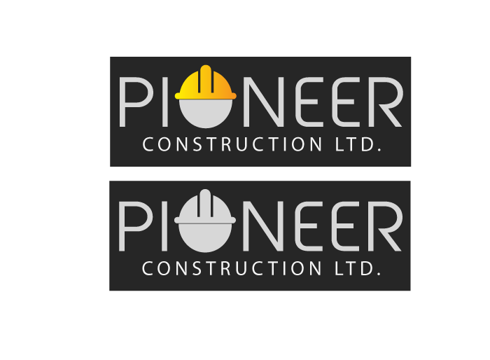 Logo Design by Jan Chua - Entry No. 24 in the Logo Design Contest Imaginative Logo Design for  Pioneer Construction Ltd.