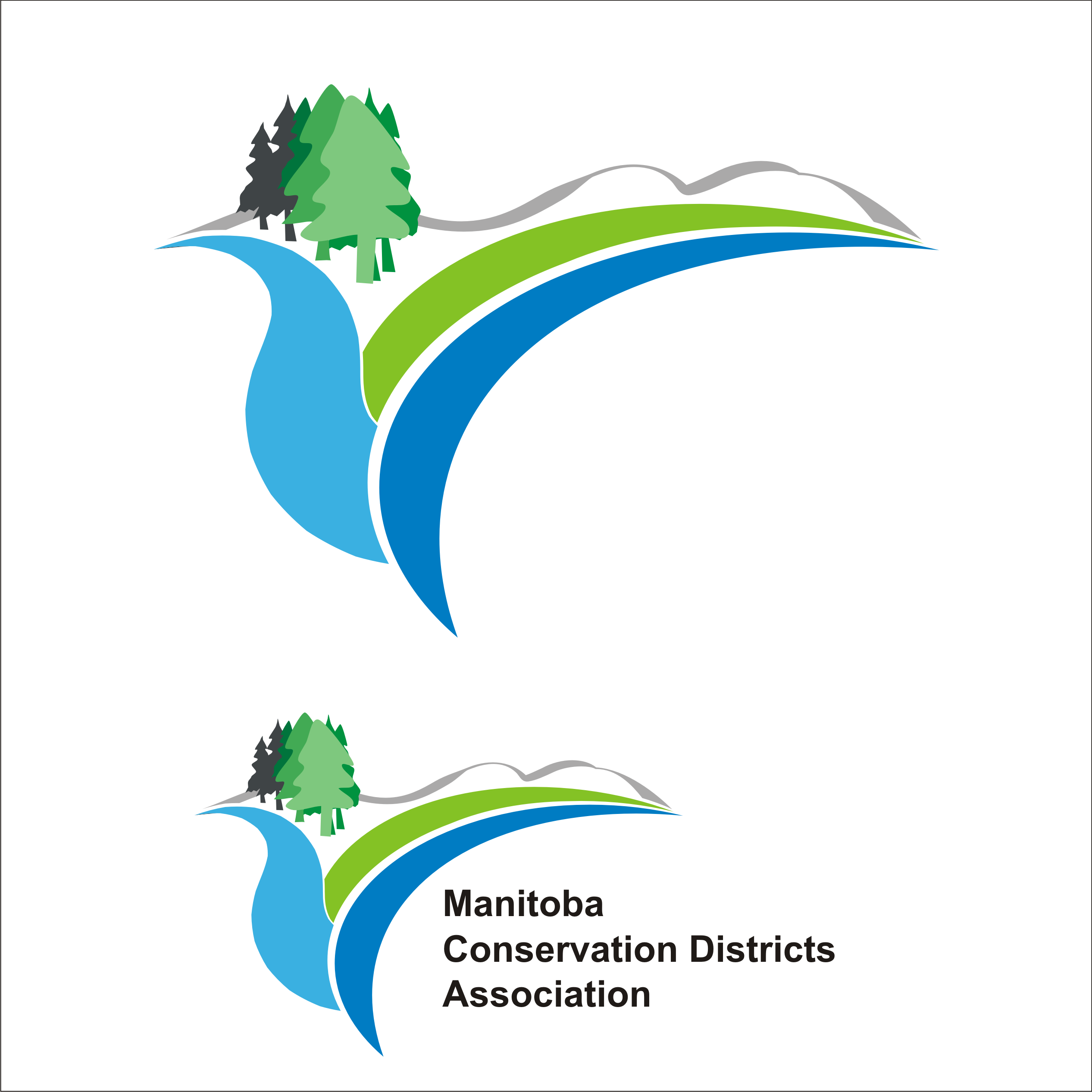 Logo Design by Private User - Entry No. 66 in the Logo Design Contest Manitoba Conservation Districts Logo Design.