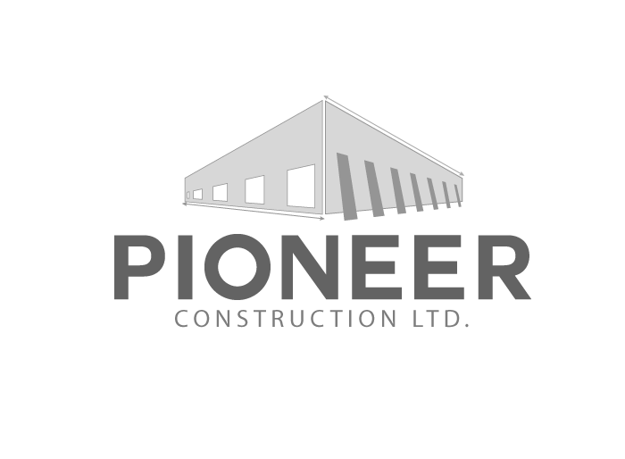 Logo Design by Jan Chua - Entry No. 25 in the Logo Design Contest Imaginative Logo Design for  Pioneer Construction Ltd.