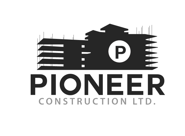 Logo Design by Jan Chua - Entry No. 27 in the Logo Design Contest Imaginative Logo Design for  Pioneer Construction Ltd.