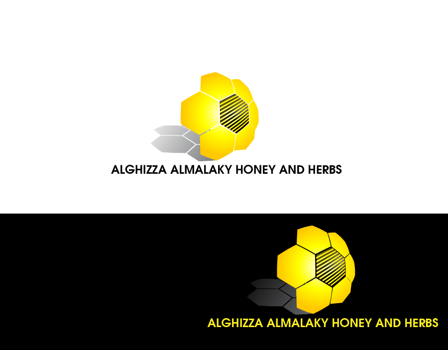 Logo Design by Private User - Entry No. 3 in the Logo Design Contest Artistic Logo Design for ALGHIZZA ALMALAKY HONEY AND HERBS.