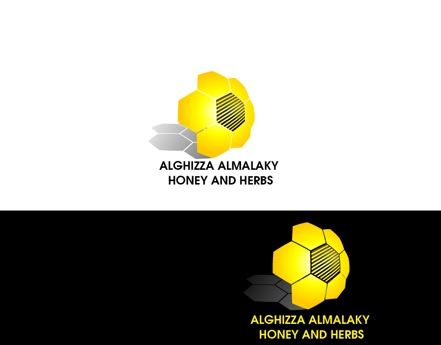 Logo Design by Private User - Entry No. 4 in the Logo Design Contest Artistic Logo Design for ALGHIZZA ALMALAKY HONEY AND HERBS.