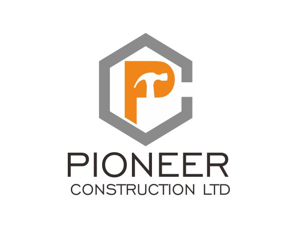 Logo Design by ronny - Entry No. 36 in the Logo Design Contest Imaginative Logo Design for  Pioneer Construction Ltd.